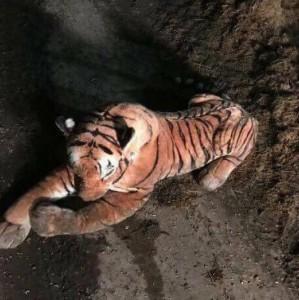 Ko se boji PLIŠANOG tigra još? Policija npr!